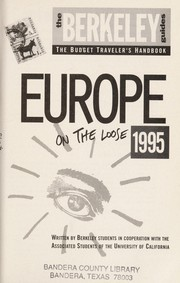 Cover of: Europe on the loose |
