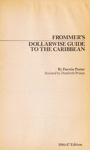 Cover of: Dollarwise Guide to the Carribean | Darwin Porter