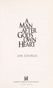 Cover of: A man after God's own heart
