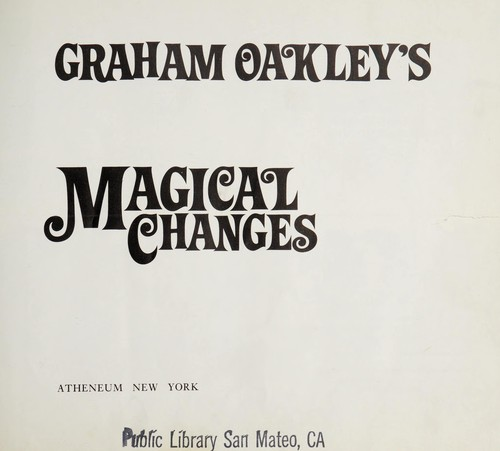 Magical changes by Graham Oakley