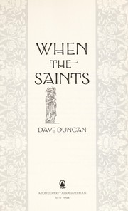Cover of: When the saints