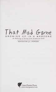 Cover of: That mad game | J. L. Powers