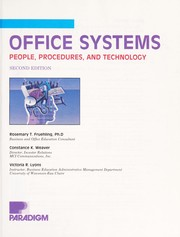 Cover of: Office systems