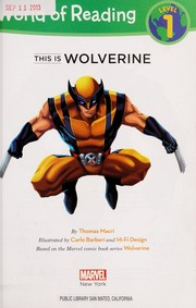 Cover of: This is Wolverine | Thomas Macri