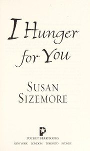 Cover of: I hunger for you