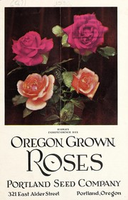 Cover of: Oregon grown roses