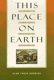 Cover of: This Place on Earth | Alan Thein Durning