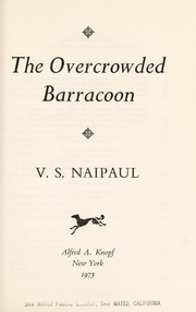 Cover of: The overcrowded barracoon