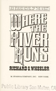 Cover of: Where the river runs