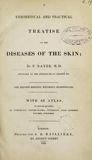 Cover of: A theoretical and practical treatise on the diseases of the skin