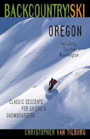 Cover of: Backcountry Ski! Oregon