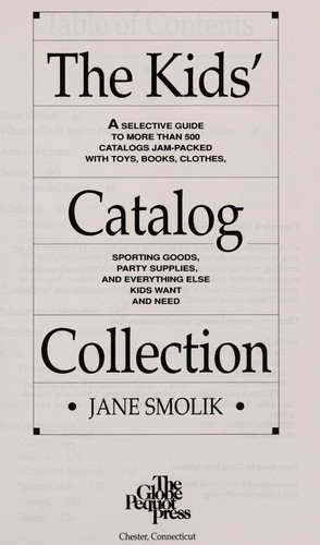 The kids' catalog collection by Jane Smolik