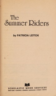 Cover of: The summer riders