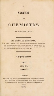 Cover of: A system of chemistry. In four volumes