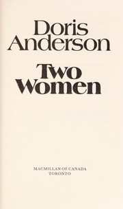 Cover of: Two women | Anderson, Doris