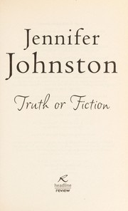 Cover of: Truth or fiction