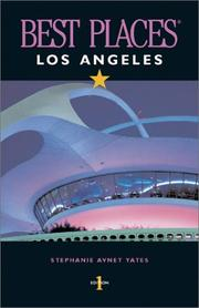 Cover of: Best Places Los Angeles | Stephanie Avnet Yates