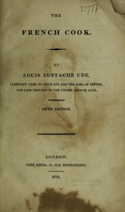 The French cook by Louis Eustache Ude