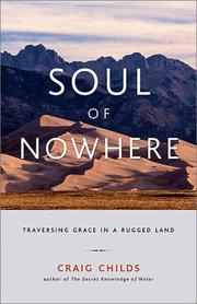 Cover of: Soul of nowhere