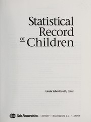 Cover of: Statistical Record of Children | Linda Schmittroth