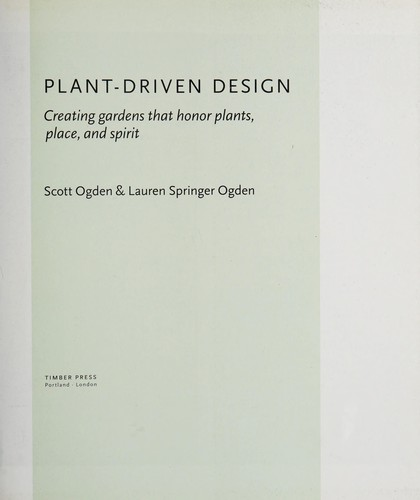 Plant-driven design by Scott Ogden
