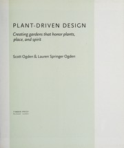 Cover of: Plant-driven design | Scott Ogden