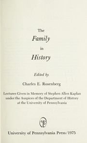 The family in history