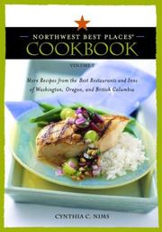Cover of: The Northwest best places cookbook