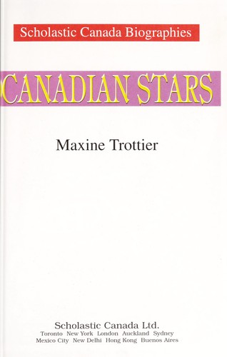 Canadian stars by Maxine Trottier