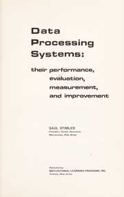 Cover of: Data processing systems | Saul Stimler