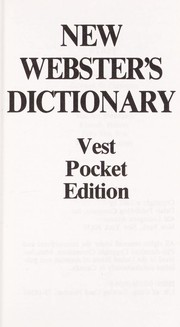Cover of: New Webster's dictionary | executive editor Edward G. Finnegan