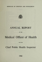 Cover of: [Report 1966] | Swinton and Pendlebury (England). Borough Council