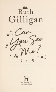 Cover of: Can you see me?