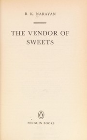 Cover of: The vendor of sweets