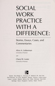 Cover of: Social work practice with a difference