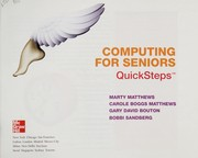 Cover of: Computing for seniors QuickSteps