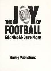Cover of: The joy of football