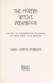 Cover of: The modern witch's dreambook
