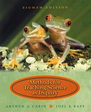 Cover of: Methods for teaching science as inquiry