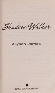 Cover of: Shadow walker | Allyson James