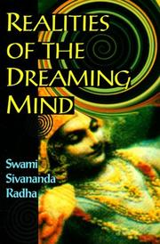 Cover of: Realities of the dreaming mind