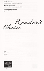 Cover of: Reader's choice