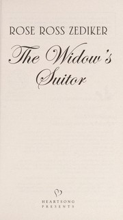 Cover of: The widow's suitor