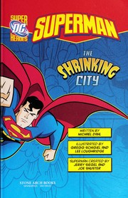 Cover of: The shrinking city | Michael Dahl