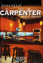 Cover of: A career as a carpenter | Greg Roza