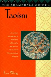 Cover of: The Shambhala guide to Taoism