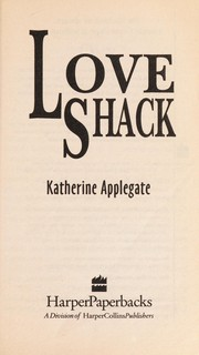 Cover of: Love Shack/ Ocean City Series Two