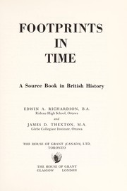 Cover of: Footprints in time | Edwin A. Richardson