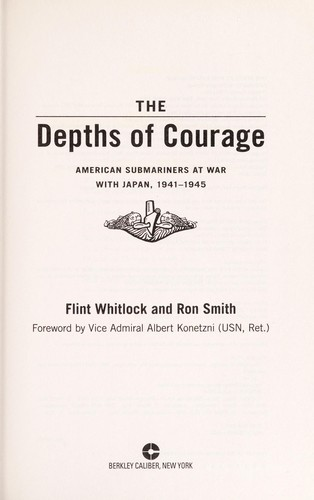 The depths of courage by Flint Whitlock