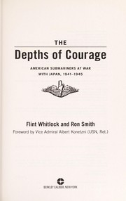 Cover of: The depths of courage | Flint Whitlock